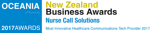 OCEANIA News 2017 New Zealand Business Awards - Most Innovative Healthcare Communications Tech Provider 2017
